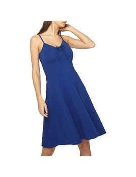 Dorothy Perkins   Tall Cobalt Bow Camisole Dress by Dorothy Perkins