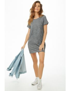 Heathered T Shirt Mini Dress by Forever 21