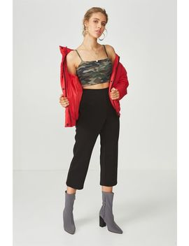 Straight Leg Crop Pant by Supre