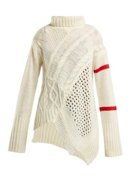 Serenity Cable Knit Sweater by Preen Line