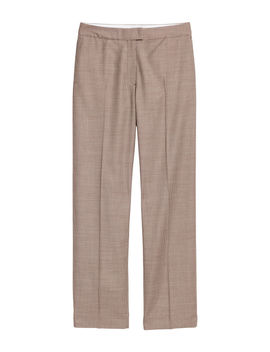 Nohavice ZVlnenej Zmesi by H&M