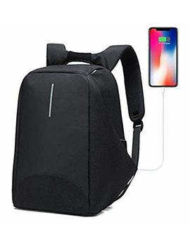 Sunshine D Backpack Usb Anti Theft, Shoulder Bag With Charging Port And Headphone Hole For Man Women School Travel Business Sport Laptop Backpack by Amazon