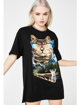 Meow For Freedom Tee by Goodie Two Sleeves