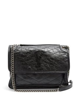 Niki Medium Quilted Leather Bag by Saint Laurent