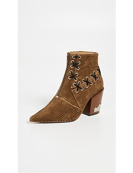 Stitch Corduroy Bootie by Toga Pulla