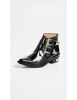Two Band Buckle Boots by Toga Pulla