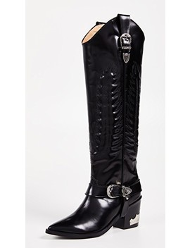 Tall Buckled Boots by Toga Pulla