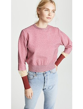 Lame Knit Pullover by Toga Pulla