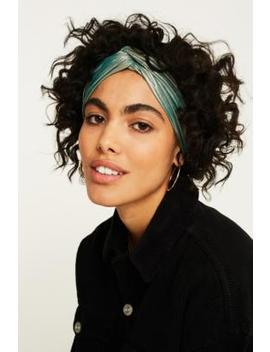 Metallic Twist Headwrap by Urban Outfitters