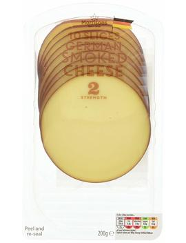 Morrisons Smoked Cheese , 10 Slices by Amazon