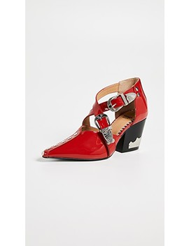 Heeled Buckled Pumps by Toga Pulla