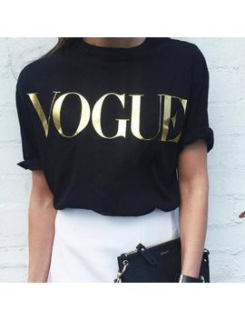 Plus Size Xs 4 Xl Fashion Summer T Shirt Women Vogue Printed T Shirt Women Tops Tee Shirt Femme New Arrivals Hot Sale  by Junyq