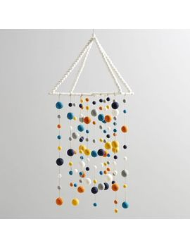 felted-pom-pom-mobile by west-elm