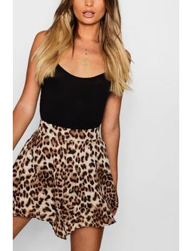 Leopard Flippy Short by Boohoo