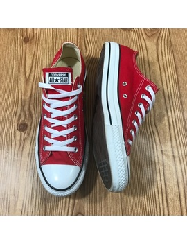 Classic Red Unisex Low Top All Star Converse by Converse