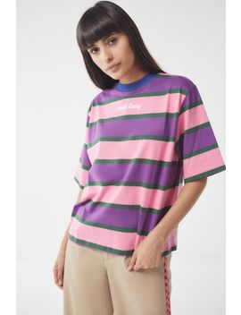 Lazy Oaf Food Baby Striped Tee by Lazy Oaf