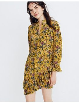 Madewell X Karen Walker® Silk Floral Loretta Dress by Madewell
