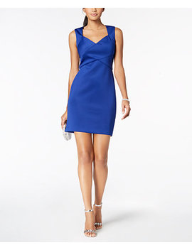 Petite Cutout Sweetheart Dress by Jessica Howard