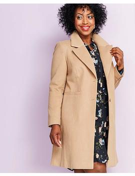 Crombie Coat by Simply Be