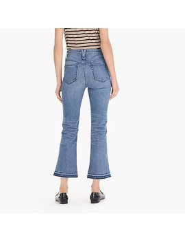 "Point Sur 10"" High Rise Demi Boot Jean With Let Down Hem by J.Crew"