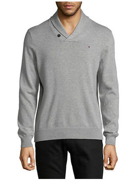 Signature Springfield Cotton Sweater by Tommy Hilfiger