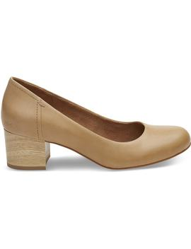 Honey Leather Women's Beverly Pumps by Toms