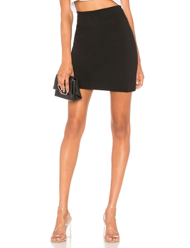 Zip Back Panel Skirt by James Perse