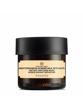Mediterranean Almond Milk With Oats Instant Soothing Mask by The Body Shop