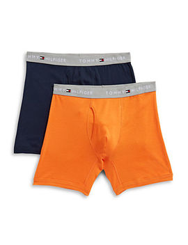 Two Pack Classic Boxer Briefs by Tommy Hilfiger