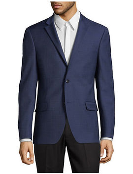 Slim Fit Wool Blend Sports Jacket by Tommy Hilfiger