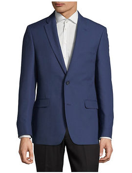 Notched Lapel Sports Jacket by Tommy Hilfiger
