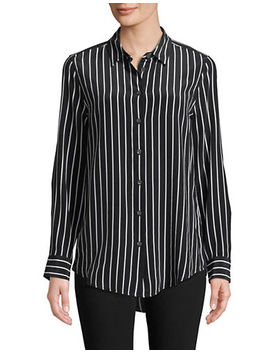 Striped Silk Blouse by Equipment