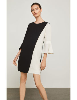 Loren Color Blocked Dress by Bcbgmaxazria