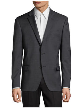 Slim Fit Wool Blend Sport Jacket by Tommy Hilfiger