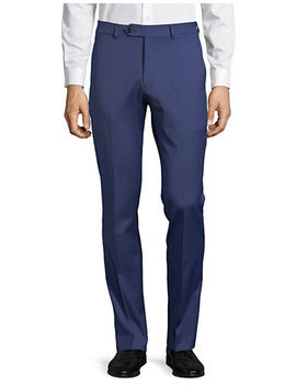 Classic Wool Blend Pants by Tommy Hilfiger