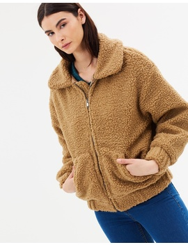 Teddy Bomber by Cotton On