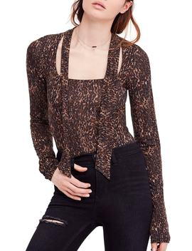 Wild Thing Leopard Print Top by Free People
