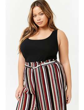 Canotta A Costine   Taglie Comode by Forever 21