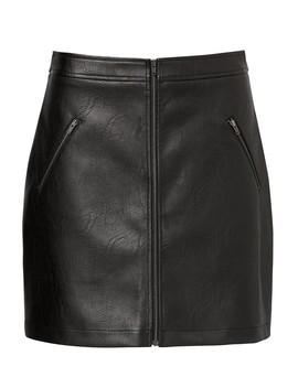 Zip Detail A Line Skirt by Sportsgirl