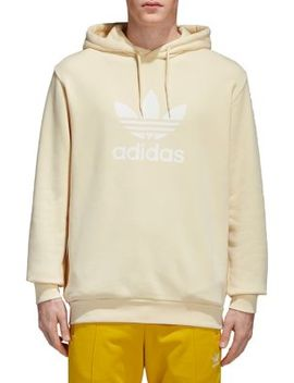 Trefoil Warm Up Cotton Hooded Sweatshirt by Adidas