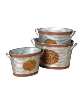 Harvest Buckets by Pottery Barn