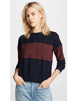 Colorblocked Sweatshirt by Sundry