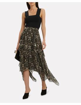 Torrie Midi Skirt by Ulla Johnson