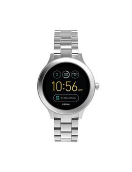 Fossil   Venture Silver Stainless Steel Smart Watch by Fossil