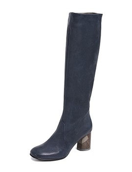Lilac Tall Boots by Coclico Shoes
