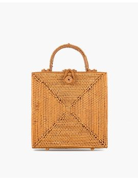 Bembien® Stella Rattan Box Bag by Madewell