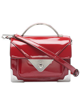 Mini Jaxone Top Handle Patent Leather Crossbody, Created For Macy's by Dkny