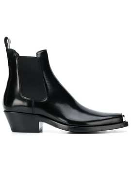 Calvin Klein 205 W39nycsquare Toe Ankle Bootshome Men Calvin Klein 205 W39nyc Shoes Boots by Calvin Klein 205 W39nyc
