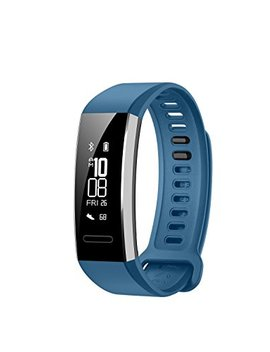 Huawei Band 2 Pro All In One Activity Tracker Smart Fitness Wristband | Gps | Multi Sport Mode| Heart Rate | Sleep Monitor | 5 Atm Waterproof, Blue (Us Warranty) by Huawei