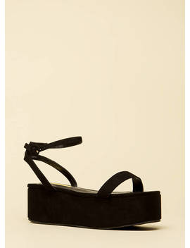 Thick Girls Chunky Platform Sandals by Go Jane